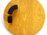 Gul cirkel med sort // limited edition